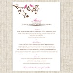 Have you thought about your Wedding Menus?