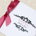 Sneak preview - new luxury wedding invitations coming soon...