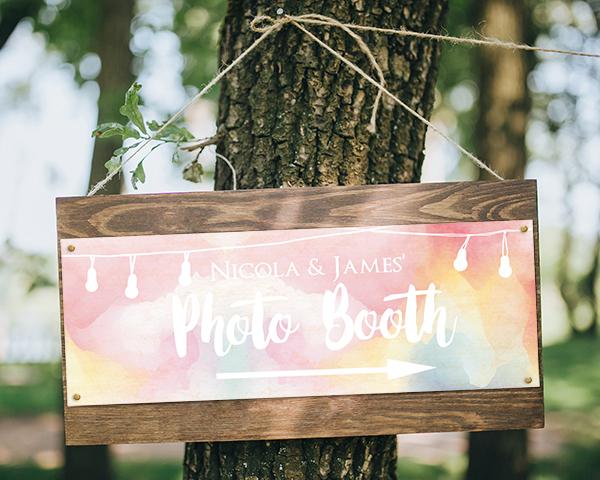 How Can I Make My Wedding Unique? - Festoon Lights - Arrow Wedding Sign