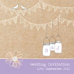Bunting: the must have decoration for vintage weddings