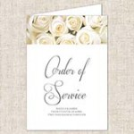 Planning your 'Order of Service'
