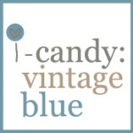 i-candy mood board: vintage blue