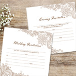 Cheap Wedding Invitations - How to be stylish and save money