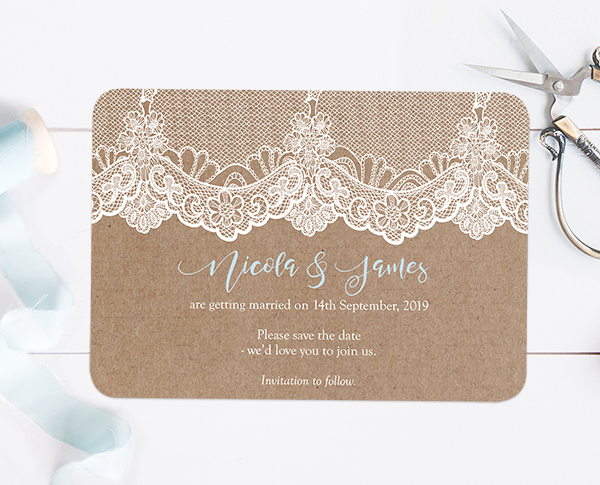 What To Put On Save The Date Wedding Cards