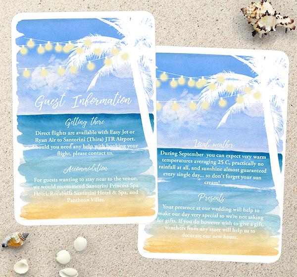 Top Tips for a Tropical Beach Wedding - Beach, Palm Trees