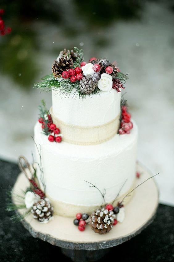 Christmas Wedding - Once Upon a Cake Co