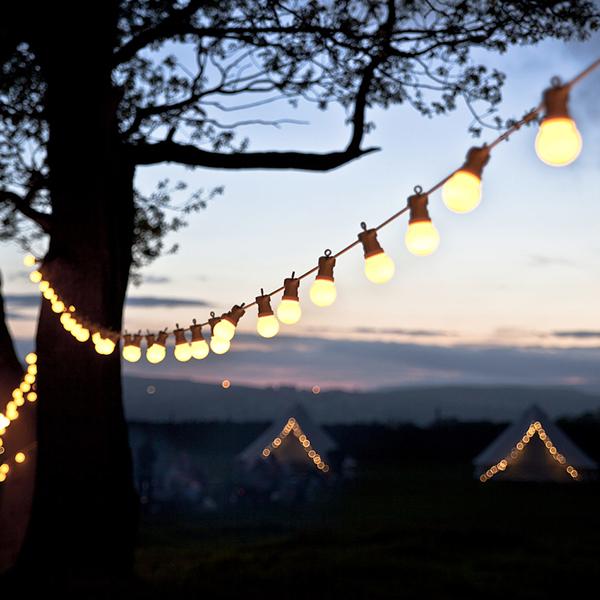 Woodland Wedding - Lights4Fun Festoon Lights