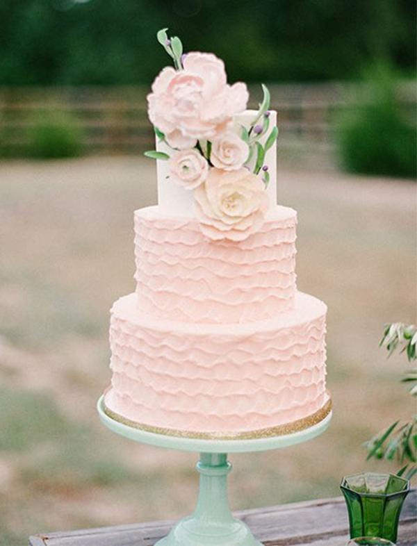 Spring Wedding Reception - Cake by Sugar Bee Sweets - Marianne Sabado Photography
