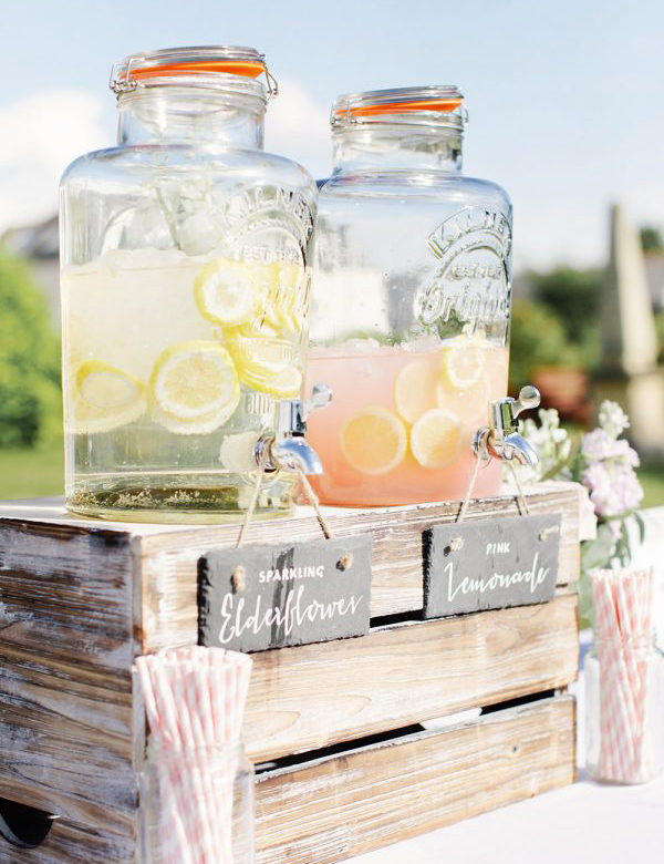 Spring Wedding Reception - Drinks by Rachel Rose Photography
