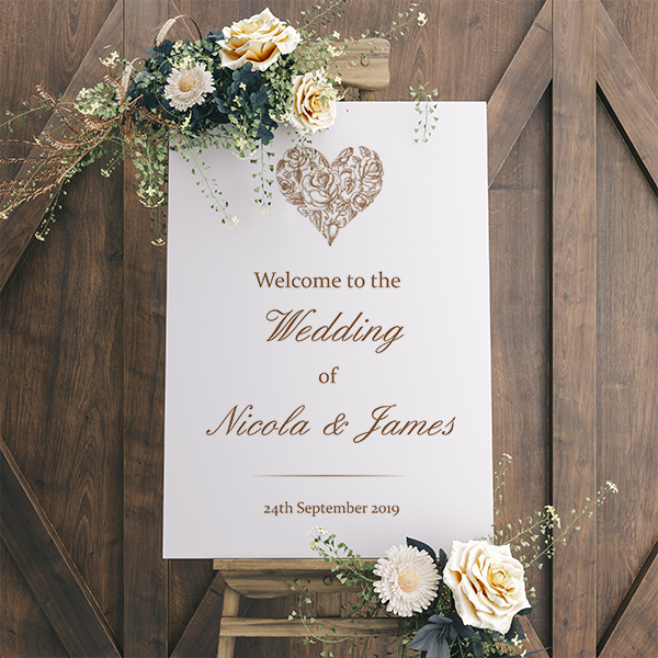 A Guide to Wedding Stationery Accessories - Amore Sign