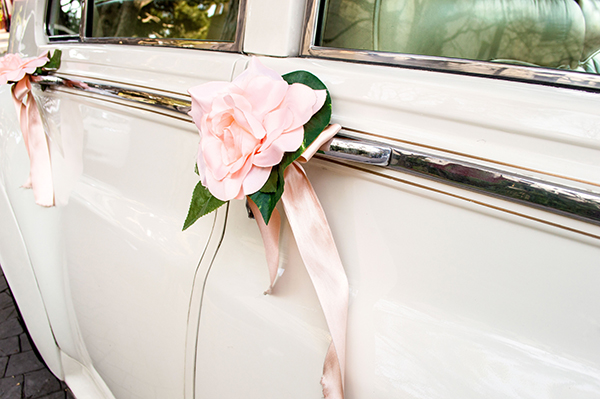 'Something Borrowed' Wedding Ideas - Car