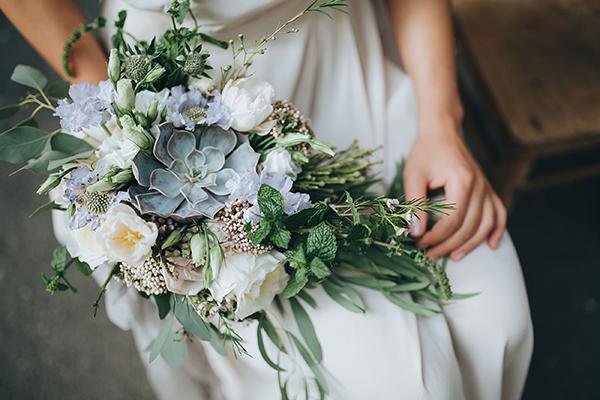 'Something Blue' Wedding Ideas - Bouquet