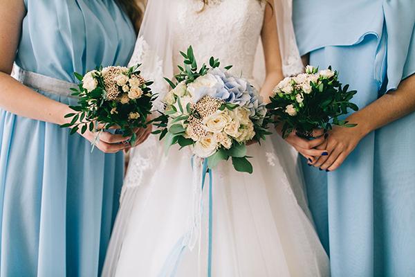 'Something Blue' Wedding Ideas - Dresses