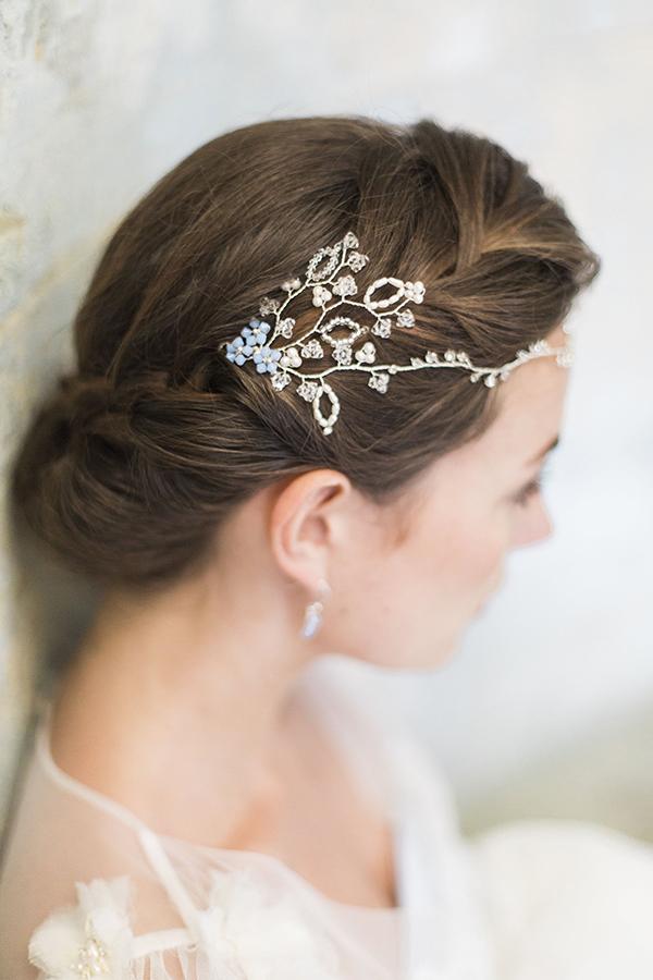 'Something Blue' Wedding Ideas - Hair Accessory
