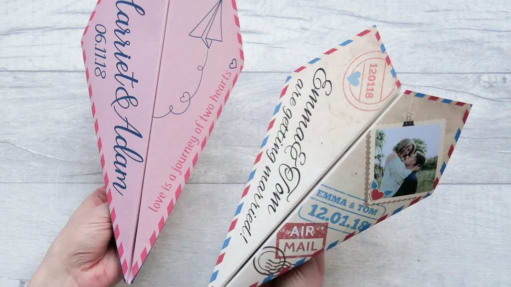 Save the Date Ideas - Etsy - Paper Planes