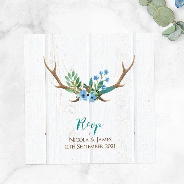 Wedding Stationery Timeline - 'Wild Love' RSVP Cards