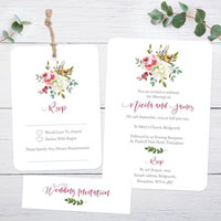 Whose Name Goes First on a Wedding Invitation?