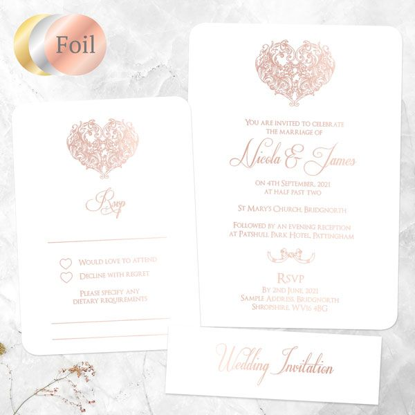 How Much Time Do You Give Guests to RSVP to a Wedding? - Je t'aime - Foil Boutique