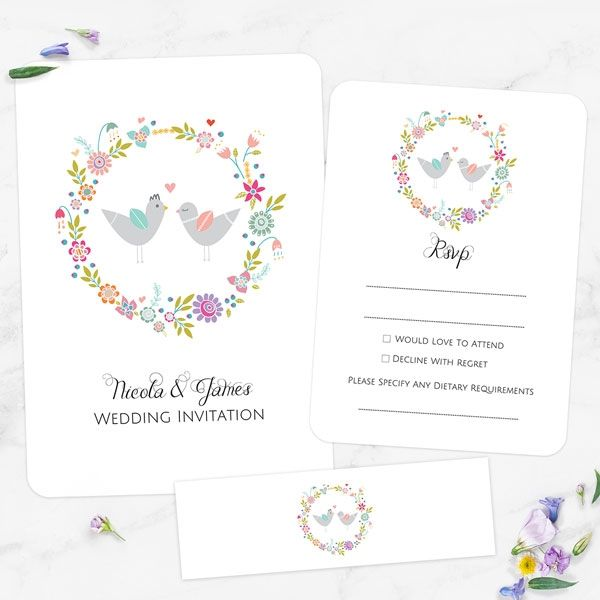 Do You Include the Groom's Parents' Names on a Wedding Invitation? - Summer Love Birds - Boutique Wedding Invitation & RSVP