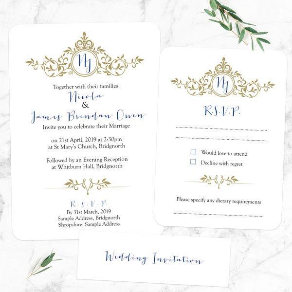 How Do You Refuse an Invitation Gracefully? - Royal Monogram - Boutique Wedding Invitation & RSVP