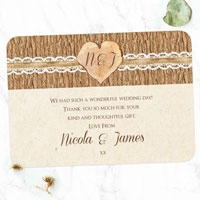 How Long after Your Wedding Should You Send Thank You Cards?