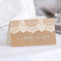 What Is the Standard Size of a Place Card?