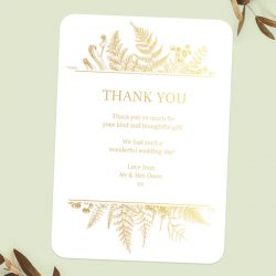 Do You Send Thank You Cards to All Wedding Guests?