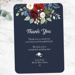 What Is Etiquette for Wedding Thank You Notes?