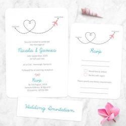 Planning Your Destination Wedding Invitations