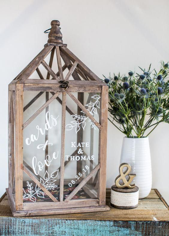Wedding Postbox Ideas - Pinterest