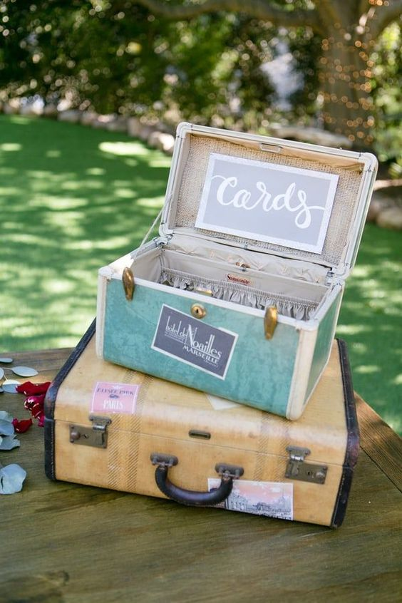 Wedding Postbox Ideas - Love and Lavender