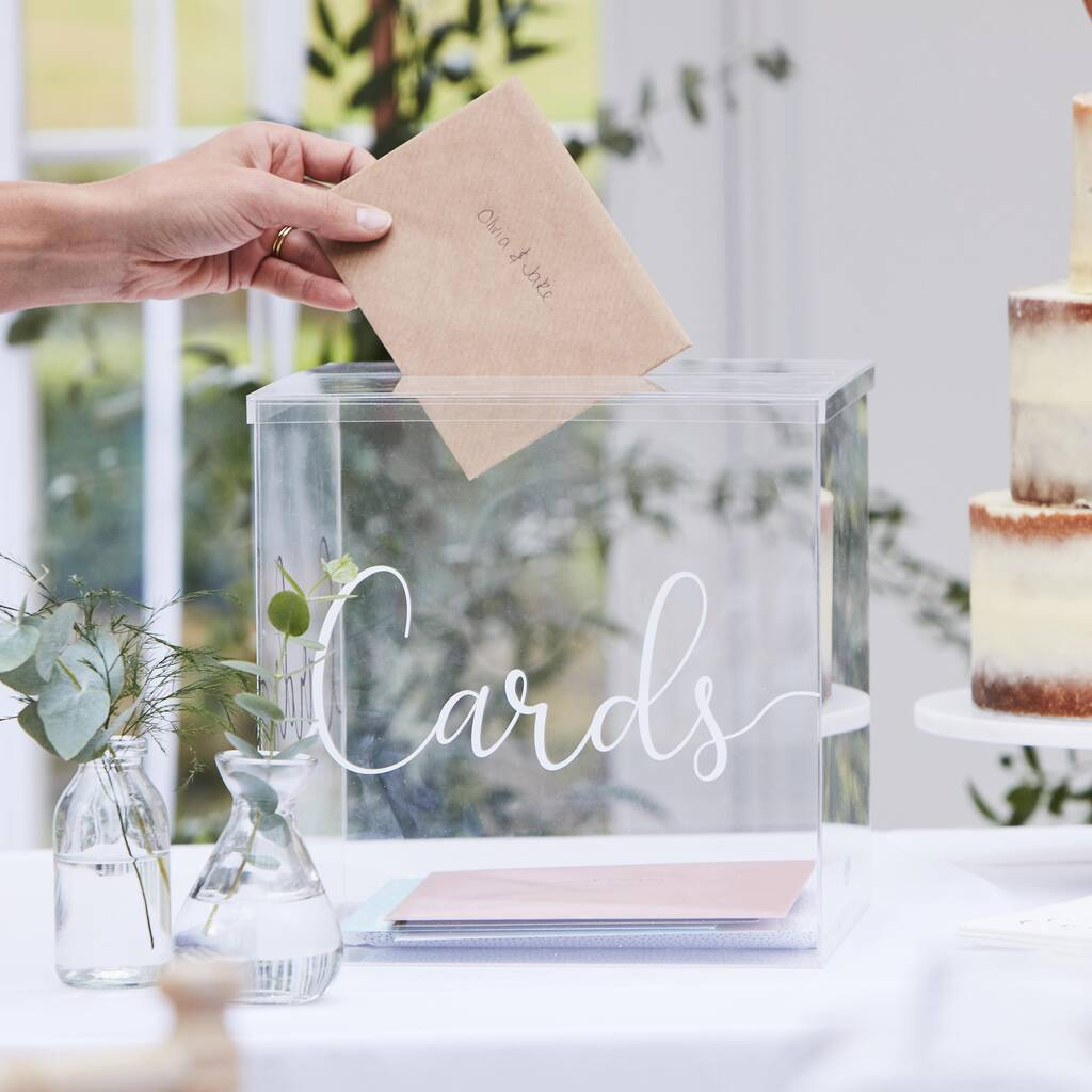 Wedding Postbox Ideas - Not On The High Street