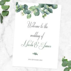 Five Ways to Use Wedding Signs